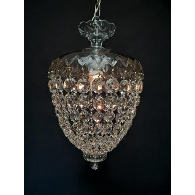 Crystal Lamp With 1 Luminous Point.
