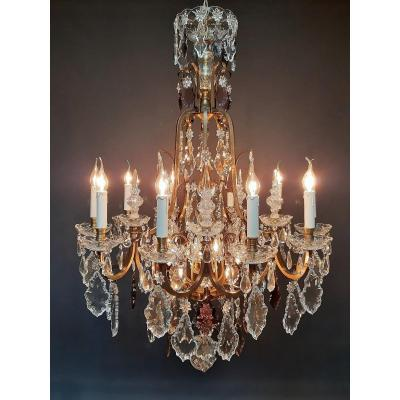Magnificent French Chandelier With 16 Light Points
