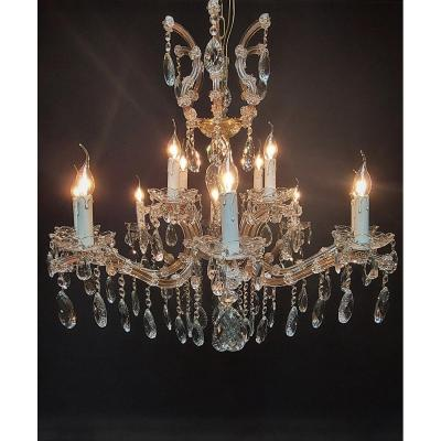 Maria-theresia Chandelier With 12 Light Points