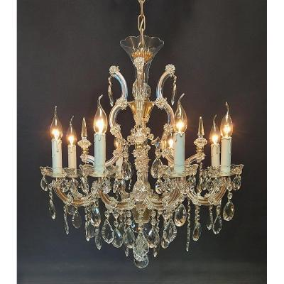 Maria-theresia Chandelier With 8 Light Points.