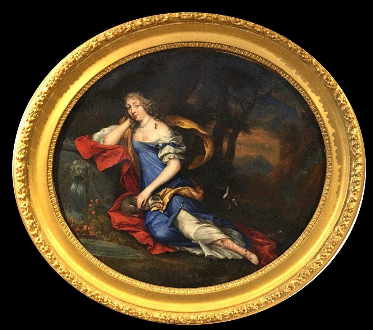 Charles Beaubrun (* Amboise 1604-1692 Paris)  Portrait