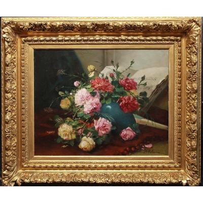 Cauchois, Eugen Henry,  *1850-1911,  Signé: Valmont - France.