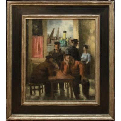 Frans Masereel * 1889-1972 Signé Et Daté -