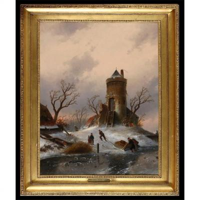 Leickert, Charles Henri Joseph -attr .- * 1816-1907 Belgique