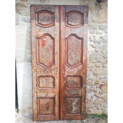 Paire De Portes XVIII
