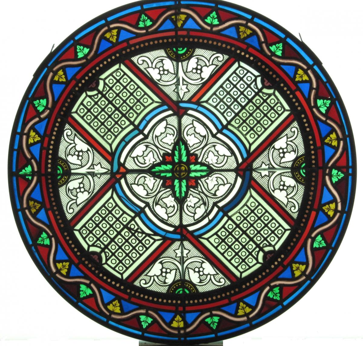 Stained Glass-rose Window