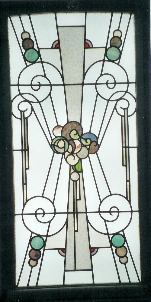 Stained Glass Panel From The 1930s