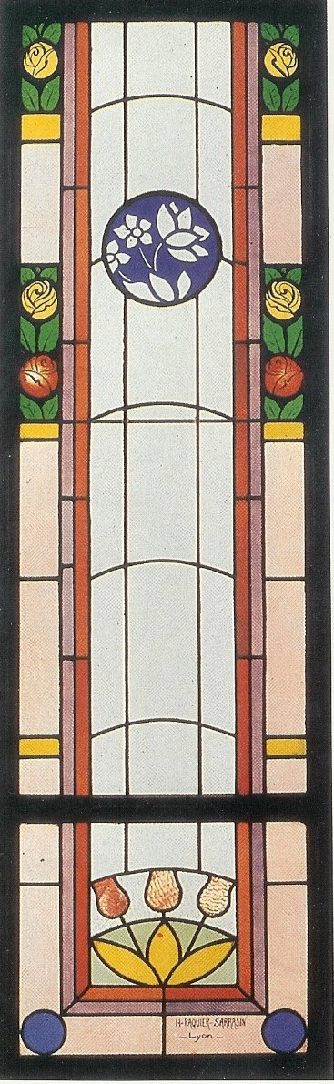 Stained Glass - Stained Glass - Tulip Composition
