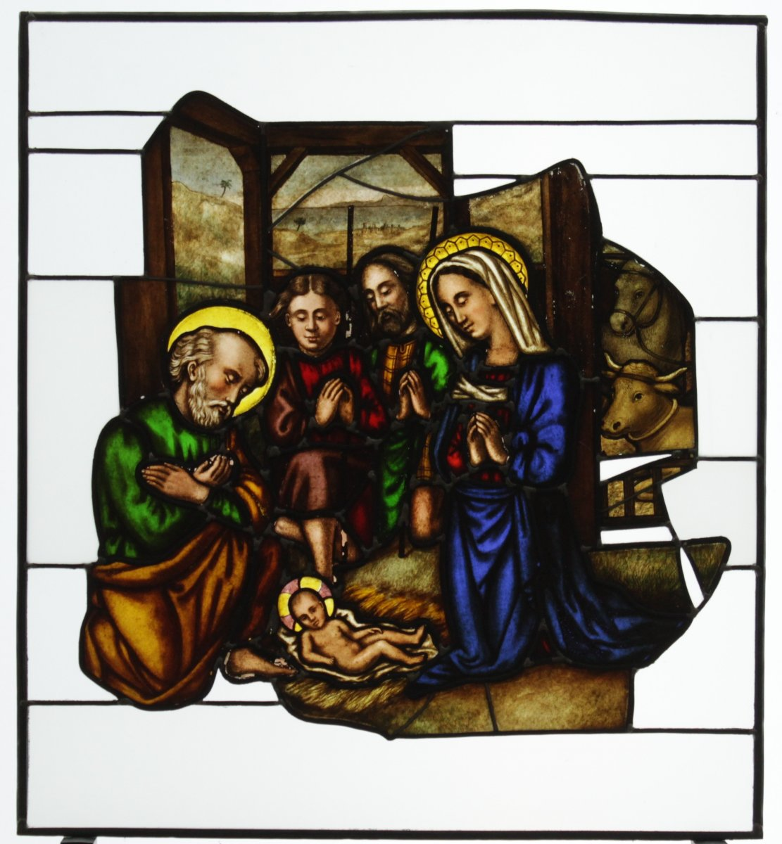 Stained Glass -  Nativity