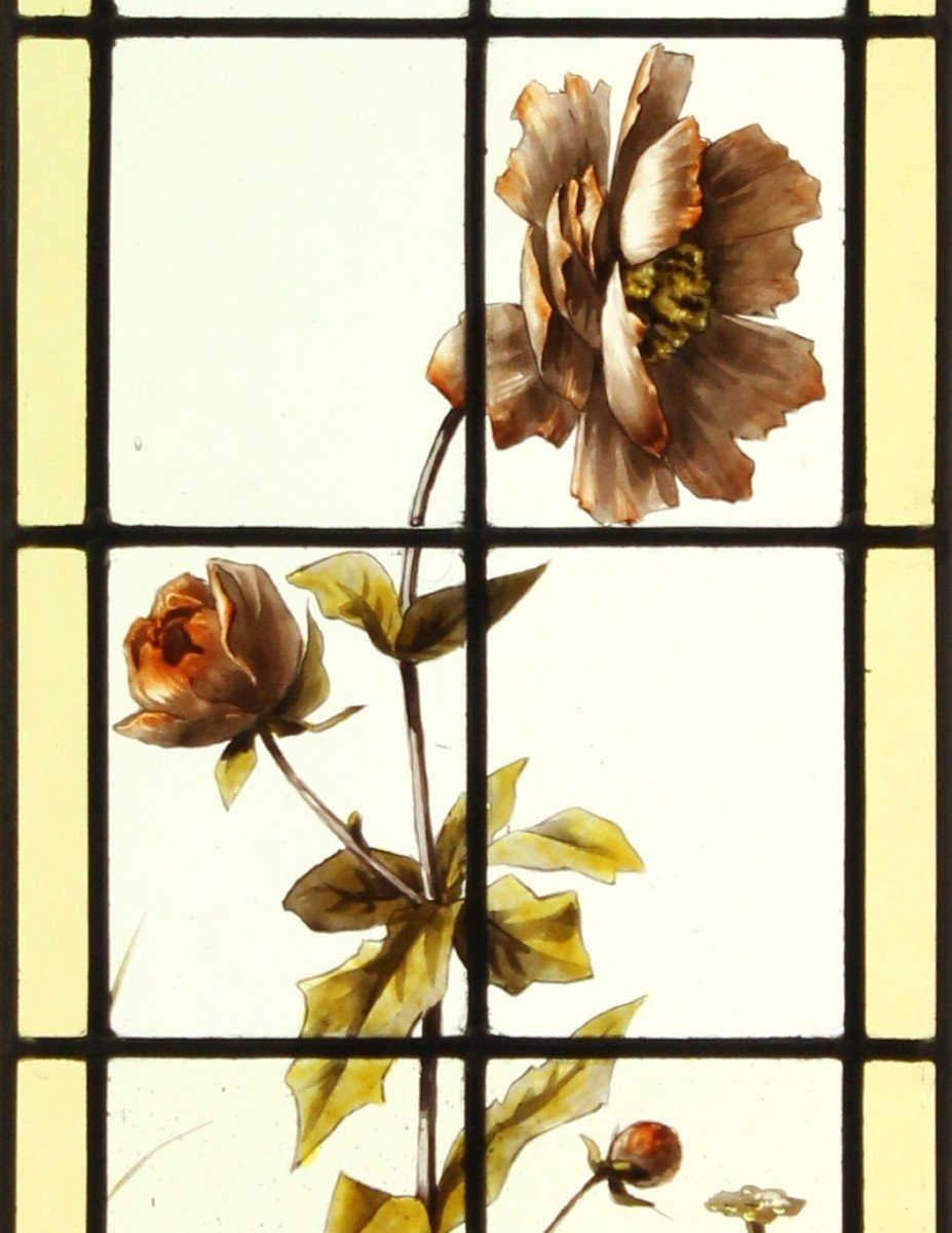 Stained Glass - Peonies-photo-2