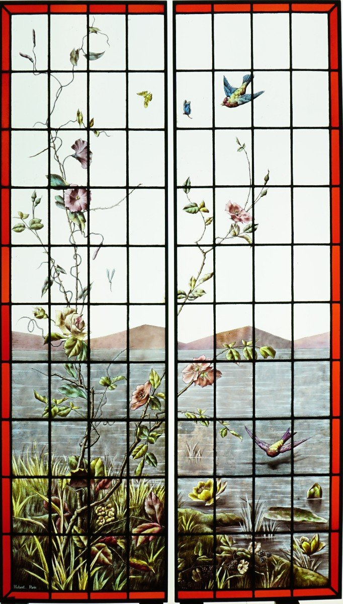 Stained Glass  - Vegetation