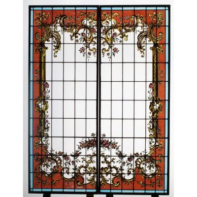Stained Glass - Louis XV Style Decor
