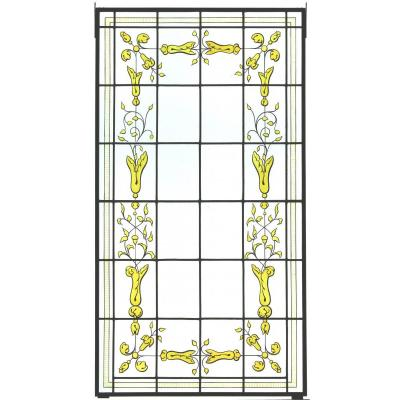 Stained Glass - Vegetal Decoration