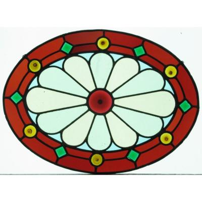 Stained Glass  - Decor Of Cives And Cabochons