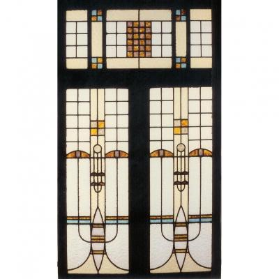 Vitrail - Vitraux – Dans Le Style De Frank Lloyd Wright