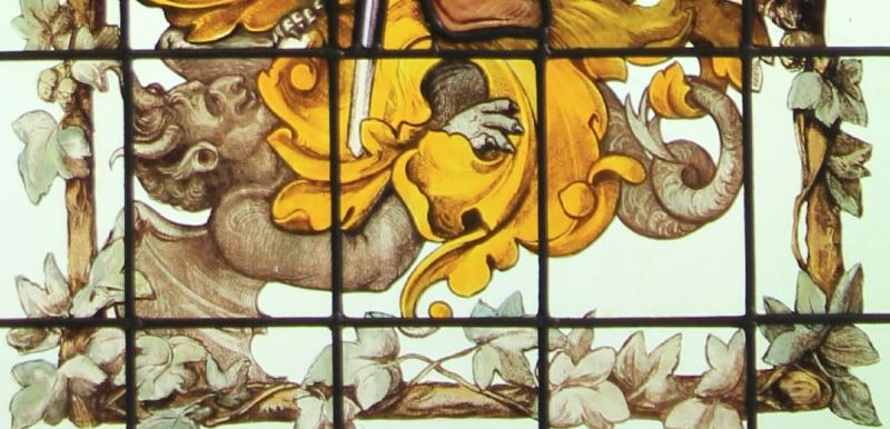 Stained Glass - Gambrinus The King Of Beer-photo-2