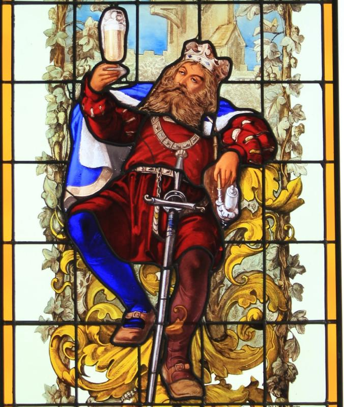 Stained Glass - Gambrinus The King Of Beer-photo-3