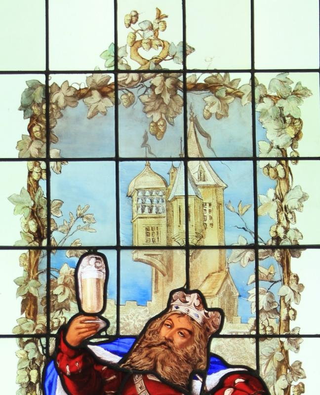 Stained Glass - Gambrinus The King Of Beer-photo-4