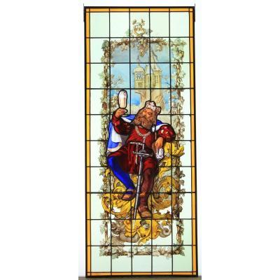 Vitrail – Vitraux – Gambrinus Le Roi De La Bière