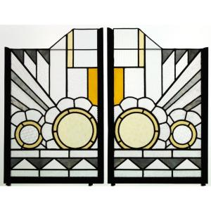 Stained Glass - Stained Glass - Art Deco