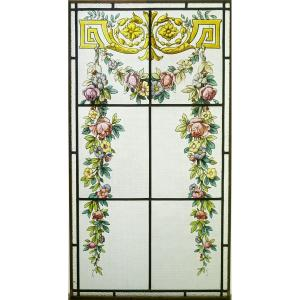 Stained Glass - Flower Decor