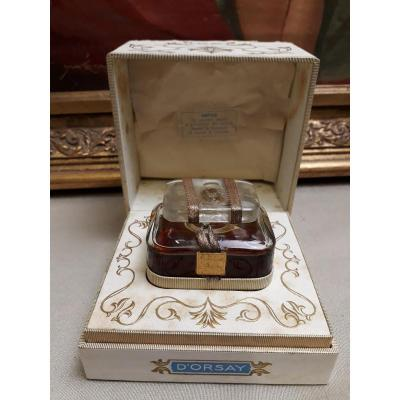 Old Perfume Bottle Trophy D 'orsay France With Box