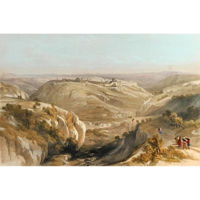 David Roberts (1796-1864), Jerusalem From The South