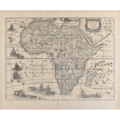 Henricus Hondius II Dit Le Jeune (1597 – 1651), Carte De l'Afrique, Atlas Mercator, 1631
