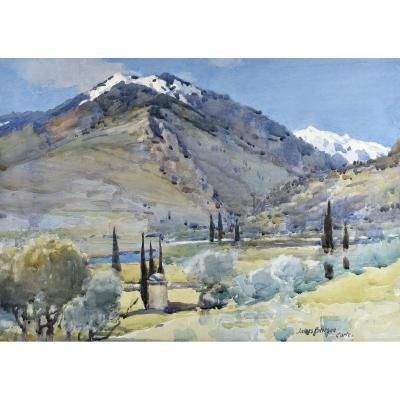 James Paterson (1854-1932), Vallée De La Restonica, Corte, Corsica