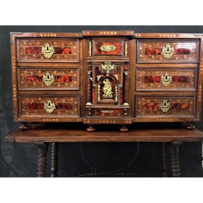 XVIII Spanish Travel Cabinet  Siecle