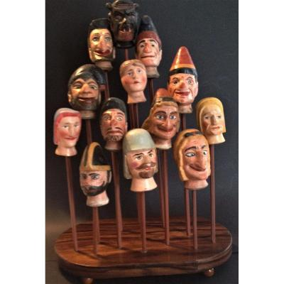 Wooden Puppet Series