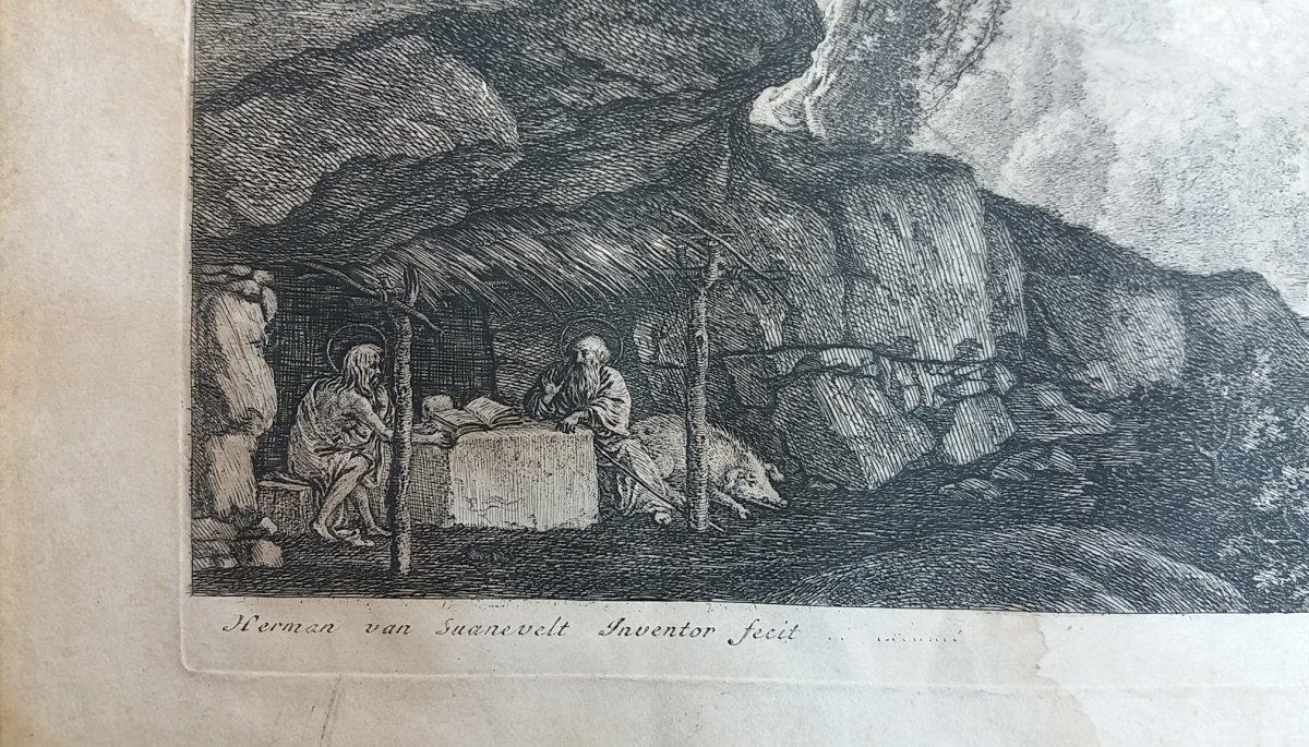 Strong Water Of XVIIth Century: Saint Paul And Saint Antoine