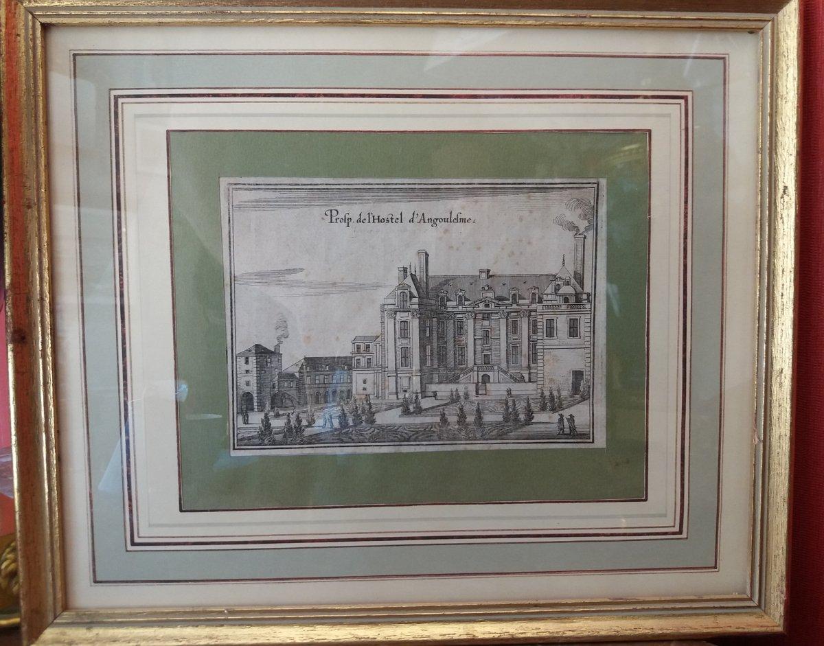 Hotel d'Angoulème  et de Lamoignon : Paris. Vue du  XVII Siècle-photo-2