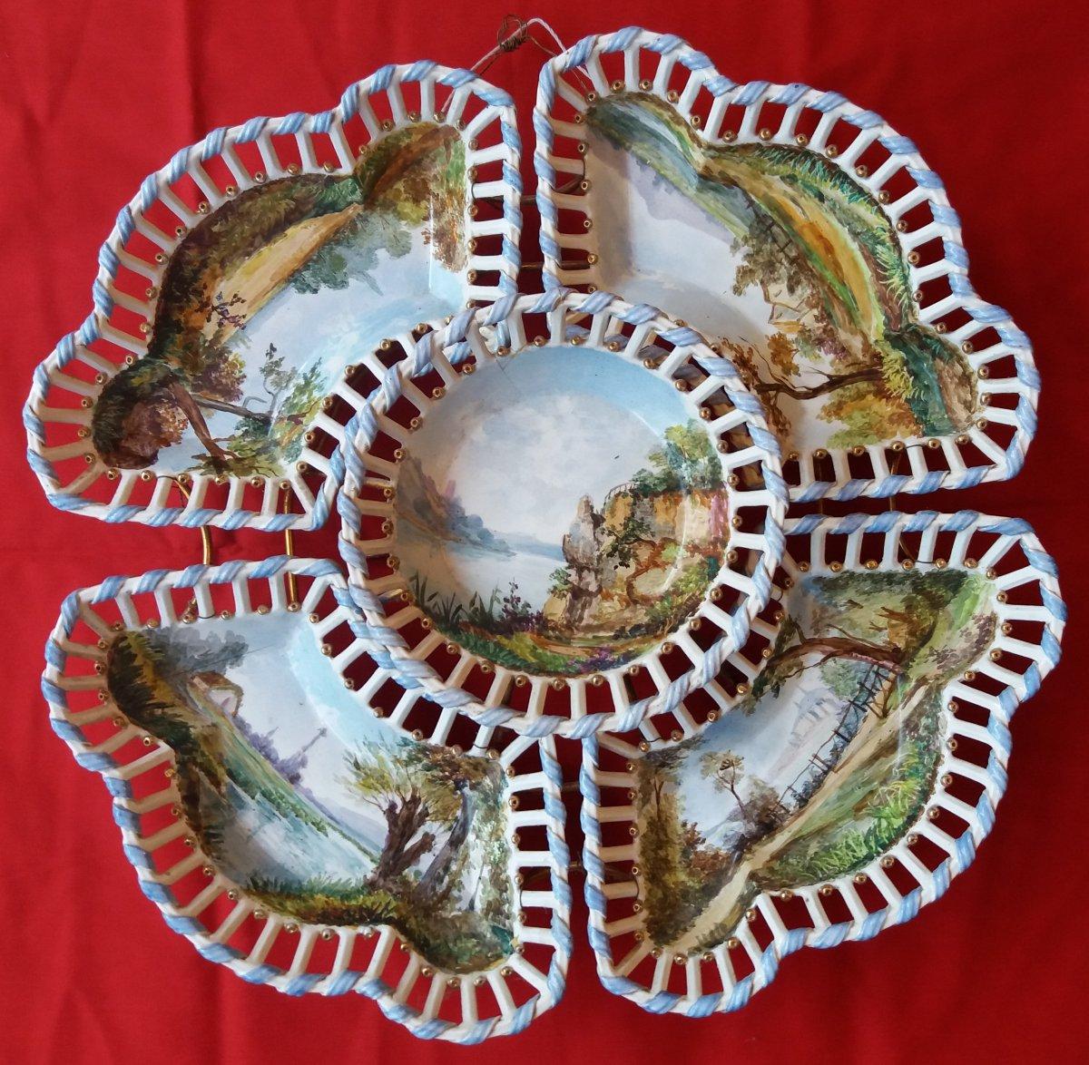 Earthenware From Langeais: Especially From Table De Carré De Busserolle