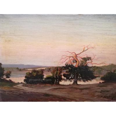 Paysage Au Laos Vers 1930