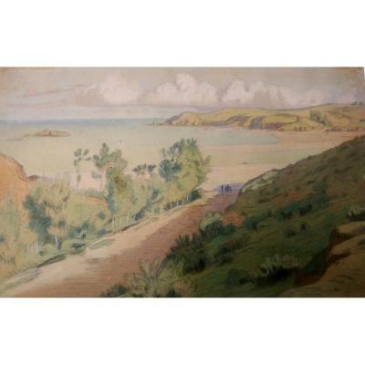 Paysage De Bretagne Par Charles Guilloux