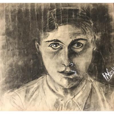 Autoportrait Par Nicolas Defrasse Vers 1930
