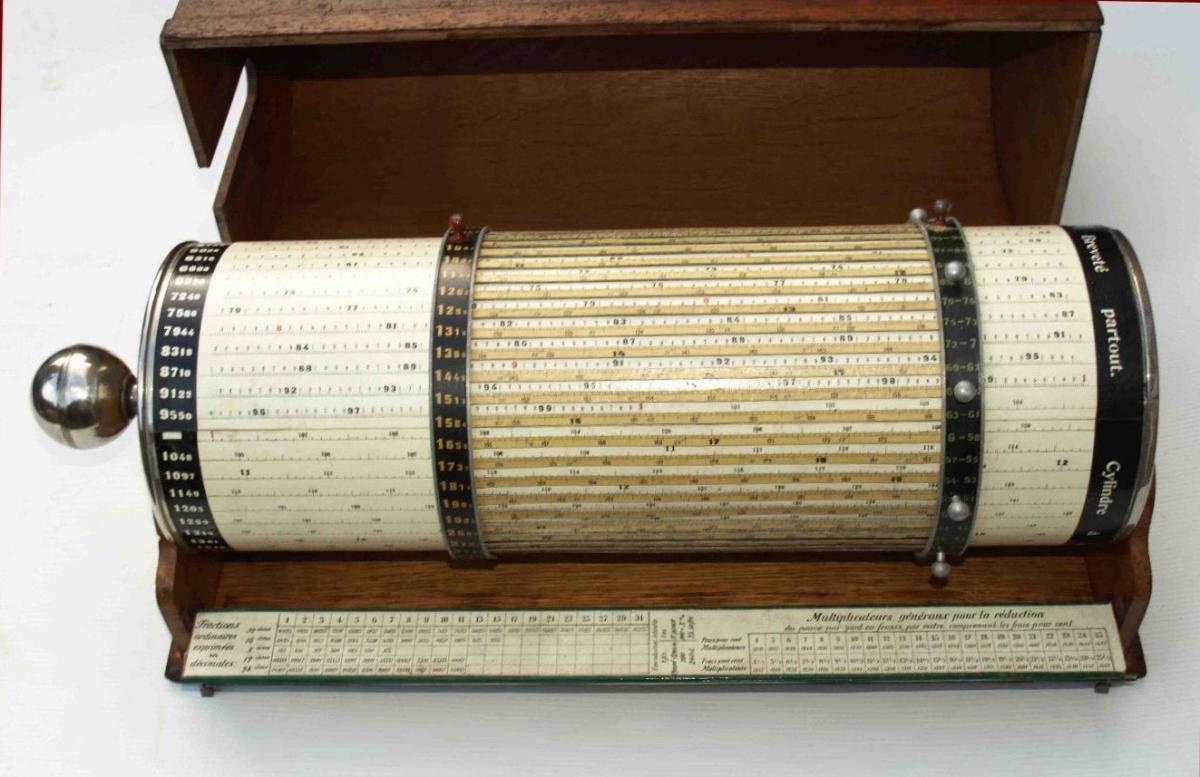 Large Cylinder To Calculate Switzerland 1910 - Calculation - Mathematics