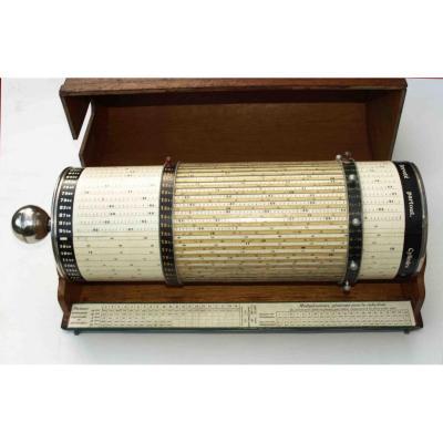Grand Cylindre à Calculer Suisse 1910 - Calcul - Mathématique