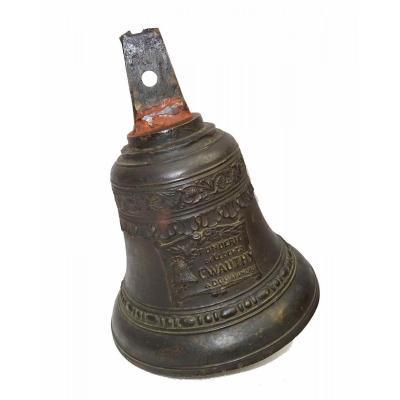 Cloche De Carillon En Bronze Signée C Wauthy à Douai (nord)