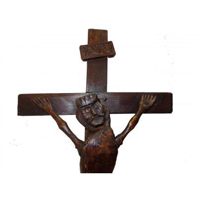 Christ Naïf Du 18ème Siècle