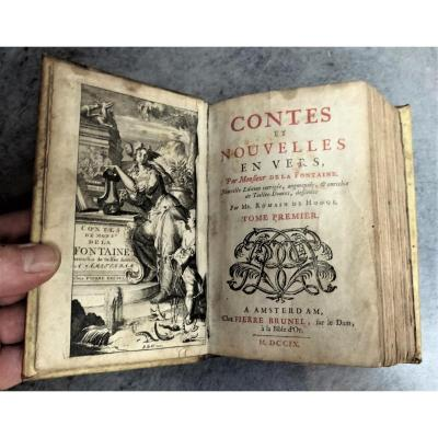 Jean De La Fontaine - Tales And News In Vers - 1709