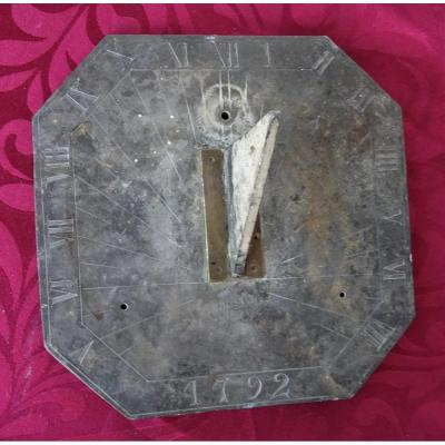 Small Sundial Dated 1792
