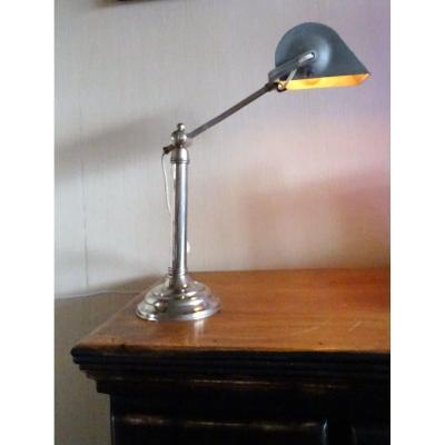 Pirouett Lamp 1930 Signed Monix In Paris