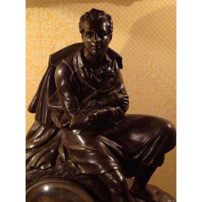 Grande Pendule , Phihellenique, à Lord Byron