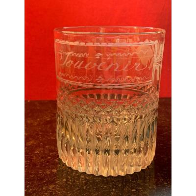 Large Crystal Glass Early Nineteenth