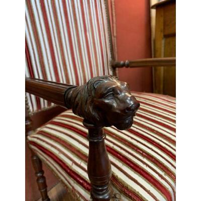 Renaissance Period Armchair