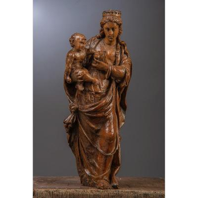 Virgin Mary With Child, C.1600.