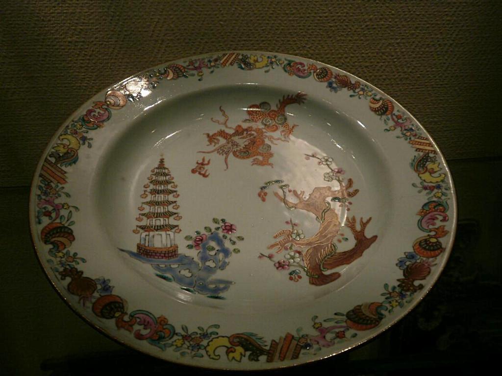 Chine – XVIIIème- Assiette
