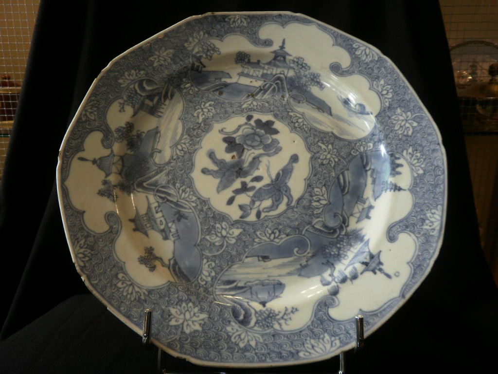 Plat En Porcelaine De Chine - XVIIIème